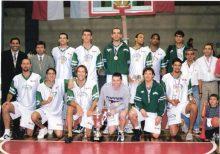 Equipo GyECR Liga Sudamericana 2001 - Foto: Prensa Gimnasia C.R.