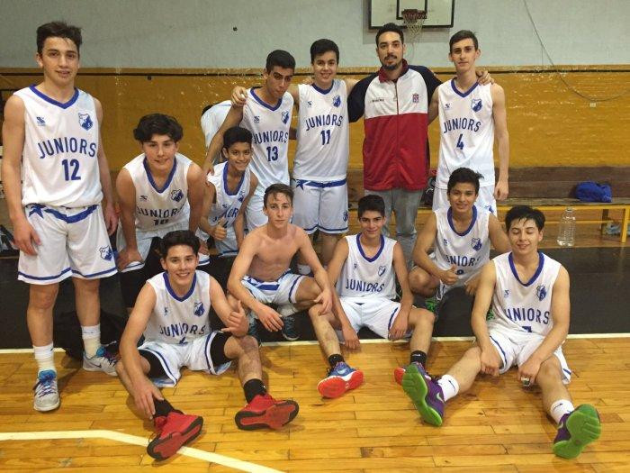 Plantel Juniors U15 - Foto: Prensa Juniors